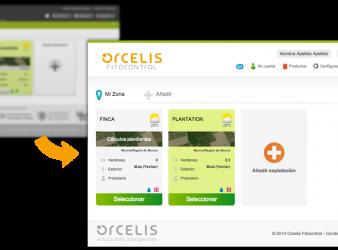 Orcelis Fitocontrol se actualiza: nuevo diseño, mayor funcionalidad.