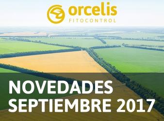 Actualización de Orcelis Fitocontrol, novedades de septiembre de 2017