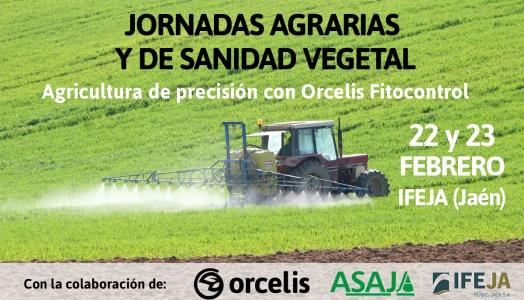 Jornadas Agrarias y de Sanidad Vegetal organizadas por ASAJA-Jaén.