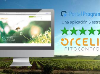 Orcelis Fitocontrol puntuada con 5 estrellas en PortalProgramas.com