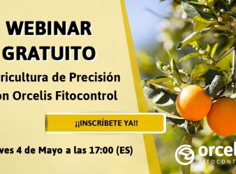 """Webinar """"Agricultura de precisión con Orcelis Fitocontrol"""""""