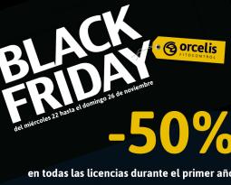 50% de descuento en todas nuestras licencias en el Black Friday de Orcelis Fitocontrol