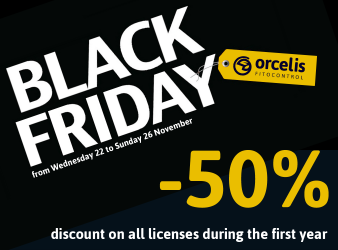 50% discount on all our licenses at Orcelis Fitocontrol Black Friday
