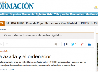 Orcelis Fitocontrol en el diario Información