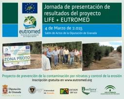 Jornada de presentación de resultados del proyecto LIFE + EUTROMED.