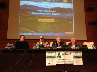 Éxito de asistencia a las Jornadas Agrarias y de Sanidad Vegetal organizadas por ASAJA-Jaén.
