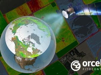 Orcelis Fitocontrol utiliza la última tecnología satélite para la gestión de explotaciones agrícolas.