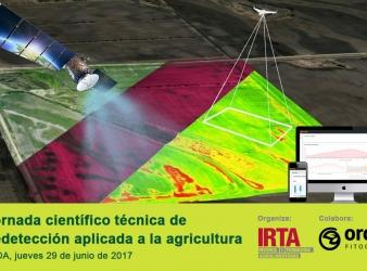 I Jornada científico técnica de teledetección aplicada a la agricultura